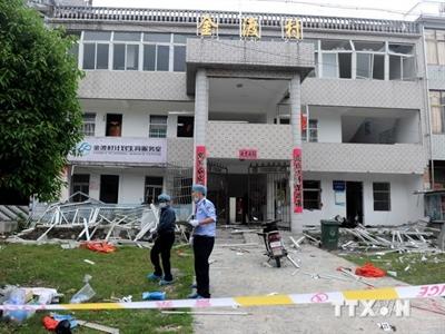 Nổ bom ở miền Đông Trung Quốc làm 5 người thương vong