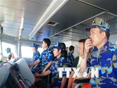 Tàu Việt Nam tiếp cận giàn khoan Hải Dương-981 ở bán kính 5-6 hải lý