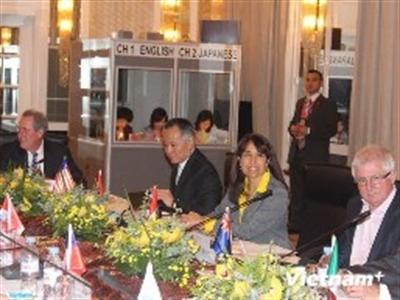 Khai mạc Hội nghị bộ trưởng 12 nước đàm phán TPP