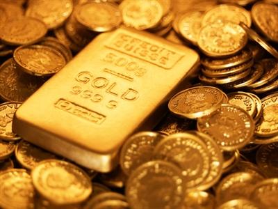 Giá vàng tăng nhẹ khi chứng khoán Mỹ giảm