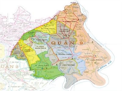 TP.HCM: Quy hoạch sử dụng đất đến năm 2020 quận 9