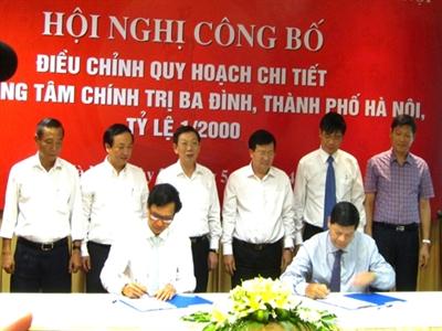Điều chỉnh Quy hoạch chi tiết khu trung tâm chính trị Ba Đình