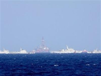 """""""Tình hình tại khu vực giàn khoan Hải Dương-981 có phần lắng dịu"""""""
