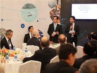 Thủ tướng trấn an nhà đầu tư quốc tế tại WEF