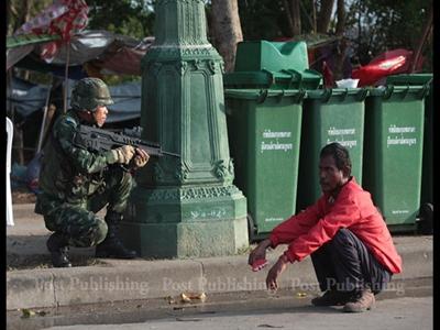 Chùm ảnh quân đội Thái Lan đảo chính