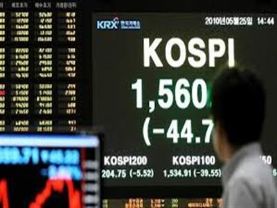 Chứng khoán Hàn Quốc lên cao nhất hơn 5 tháng