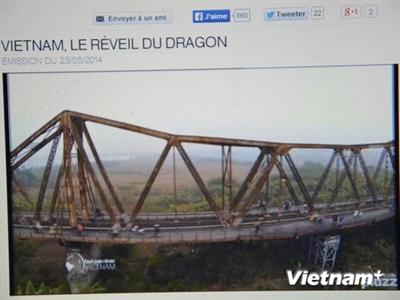 Vẻ đẹp độc đáo của Việt Nam lên sóng truyền hình Pháp
