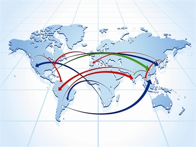 Dòng chảy thương mại toàn cầu suy giảm trong quý I/2014