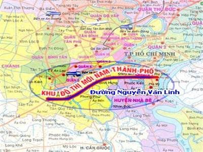 Điều chỉnh quy hoạch chi tiết Khu số 15 - Khu đô thị Nam TP.HCM