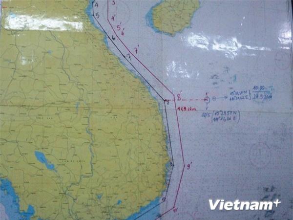 Hải Dương-981 dịch chuyển 23 hải lý, vẫn trong vùng biển Việt Nam