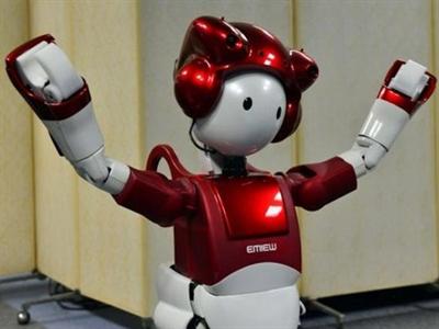 Robot Nhật biết nói đùa