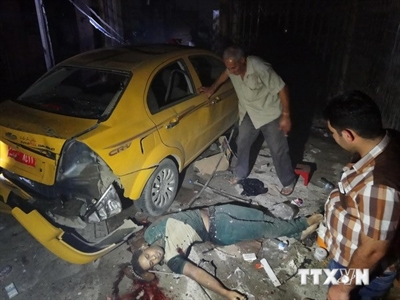 Đánh bom liều chết ở nhà thờ Iraq, ít nhất 13 người tử vong