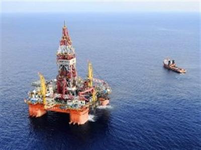 Giàn khoan Hải Dương 981 có thể đang khai thác một mỏ khí đốt
