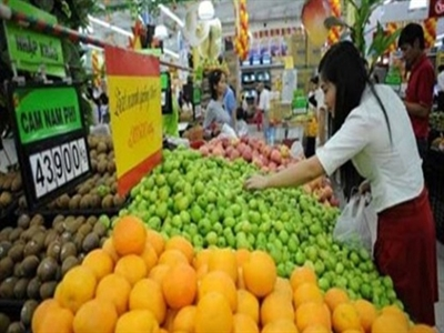 Tháng 5, tổng mức hàng hóa bán lẻ và doanh thu dịch vụ tiêu dùng tăng 1,4%