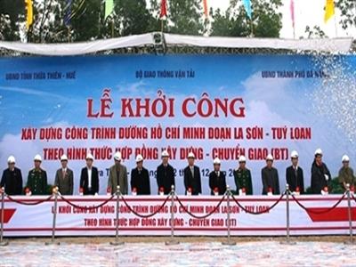 Tháng 12 khởi công đường Hồ Chí Minh đoạn Cam Lộ - La Sơn