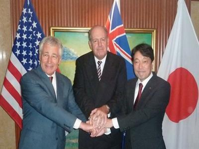 Mỹ, Nhật, Australia phản đối việc dùng vũ lực thay đổi hiện trạng