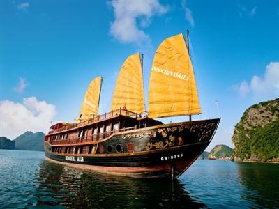 Những du thuyền lớn nhất Việt Nam