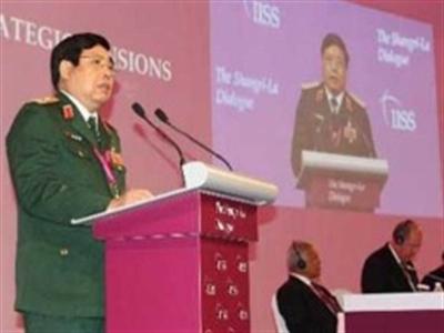 Bộ trưởng Phùng Quang Thanh phát biểu tại Đối thoại Shangri-La
