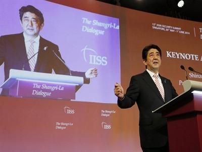Ông Abe muốn đưa Nhật Bản trở thành đối trọng của Trung Quốc