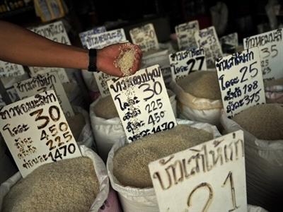 Thái Lan huy động 50 tỷ baht để thanh toán cho nông dân
