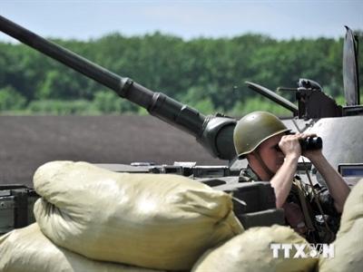 Quân đội Ukraine mở chiến dịch tấn công quân nổi dậy ở Slavyansk