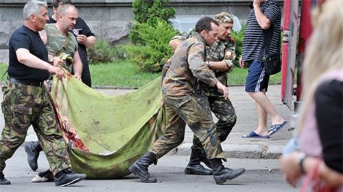 Hơn 180 người thiệt mạng trong chiến dịch ở đông Ukraine