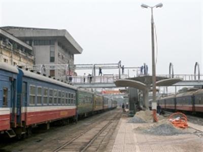 Vận tải đường sắt tăng đột biến