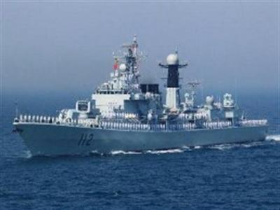 Trung Quốc tập trận hải quân trên biển Hoàng Hải
