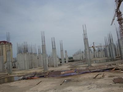 Sau 4 năm khởi công dự án Ciputra Hanoi Mall vẫn chưa đi vào hoạt động