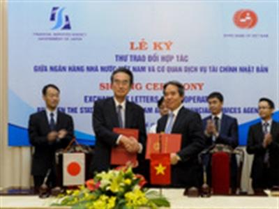 NHNN và JFSA ký kết trao đổi hợp tác