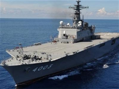 Tàu đổ bộ Nhật Bản cùng quân nhân Mỹ, Úc sắp đến Đà Nẵng