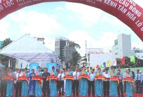 TPHCM thông xe cầu Bông, cầu Hậu Giang trước 3 tháng