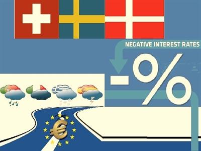Lãi suất tiền gửi âm: Bài học kinh nghiệm từ Thụy Sĩ, Thụy Điển và Đan Mạch