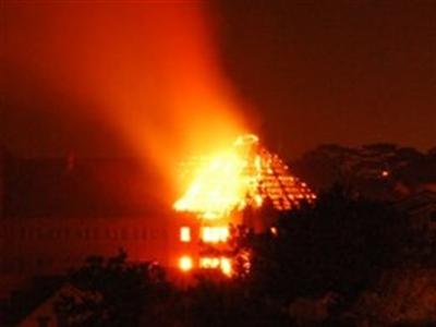 Cháy dữ dội tại Xí nghiệp Bản đồ Đà Lạt