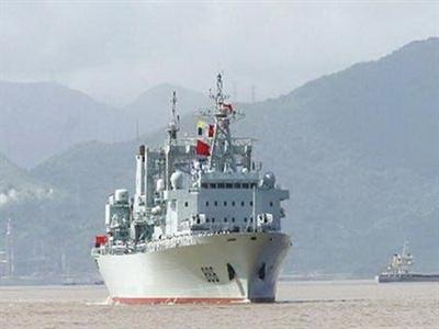 Tàu tiếp tế quân sự lớn nhất Trung Quốc sẽ ra biển Đông