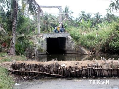 210 triệu USD phát triển thủy lợi và nông thôn vùng ĐBSCL