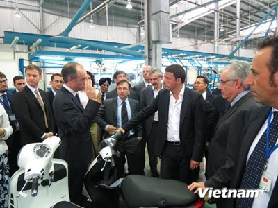Dòng vốn đầu tư từ doanh nghiệp Italy vào Việt Nam sẽ tăng