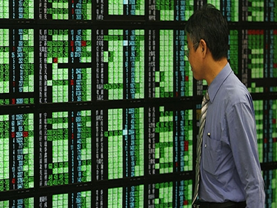Chứng khoán châu Á tăng từ mốc cao nhất 1 năm