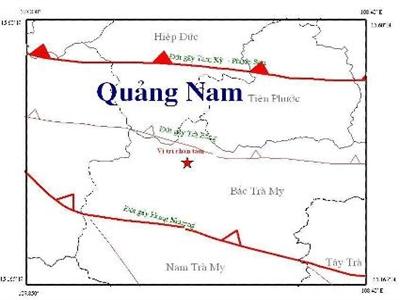 Liên tiếp xảy ra 2 trận động đất tại Sông Tranh 2