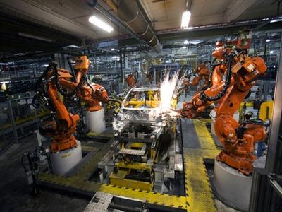 Sản lượng công nghiệp Eurozone tăng trong tháng 4