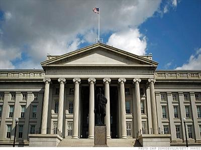Thâm hụt ngân sách của Mỹ thấp nhất kể từ năm 2008