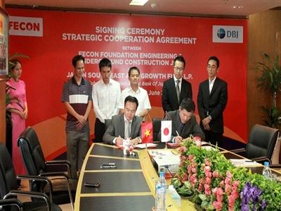 FECON ký thỏa thuận hợp tác chiến lược với Ngân hàng Phát triển Nhật Bản