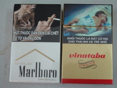 Tịch thu toàn bộ thuốc lá không in hình cảnh báo sức khỏe