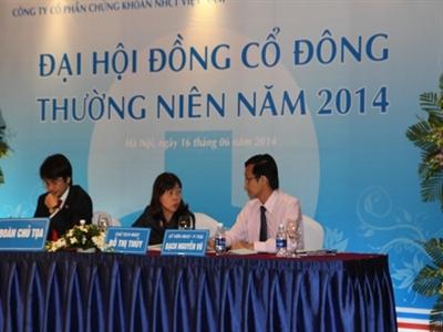 ĐHCĐ VietinBankSc: Bầu Chủ tịch HĐQT, Ban Kiểm soát nhiệm kỳ 2014 - 2019