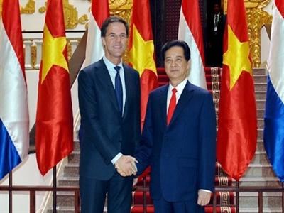 Việt Nam, Hà Lan nhất trí mở rộng quan hệ hợp tác