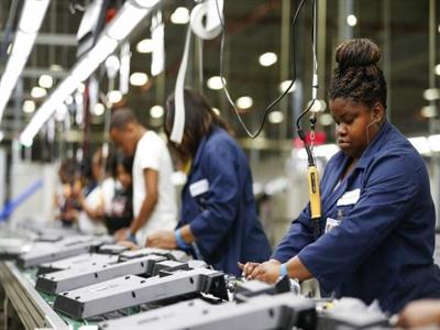 Sản xuất công nghiệp Mỹ tháng 5 tăng trưởng bền vững