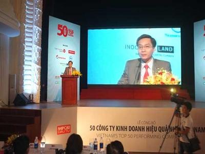 Công bố 50 công ty kinh doanh hiệu quả nhất Việt Nam 2014