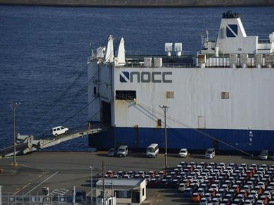 Xuất khẩu của Nhật Bản lần đầu tiên giảm trong 15 tháng