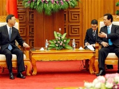 Thủ tướng bàn về Biển Đông với quan chức cấp cao Trung Quốc