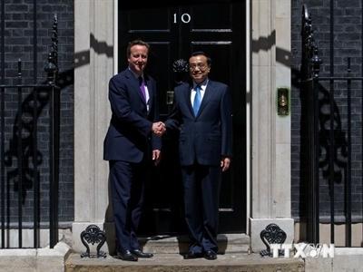Anh-Trung Quốc ký các thỏa thuận trị giá hơn 14 tỷ bảng